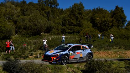 Thierry Neuville zet zesde tijd neer in shakedown in Rally Argentinië