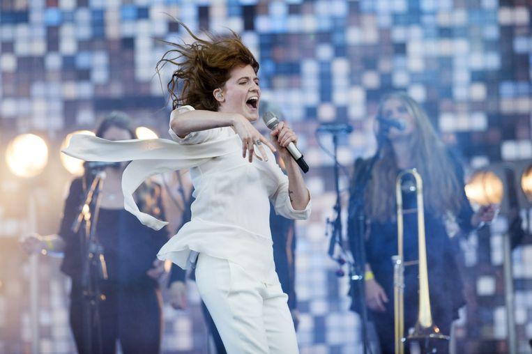 Florence + The Machine. Beeld Alex Vanhee