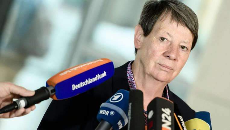 Duits milieuminister Barbara Hendricks. Beeld EPA