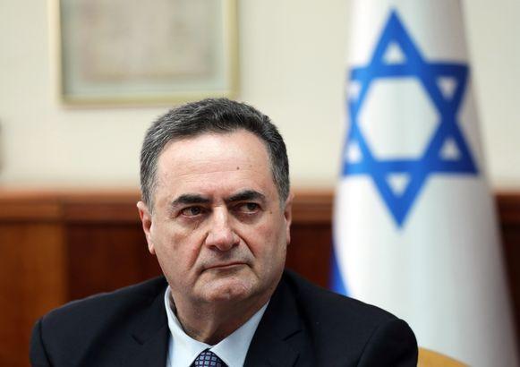 De Israëlische minister van Buitenlandse Zaken Israel Katz