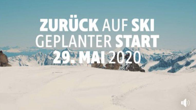 Hinterux plant het skigebied vanaf 29 mei te heropenen voor het publiek.