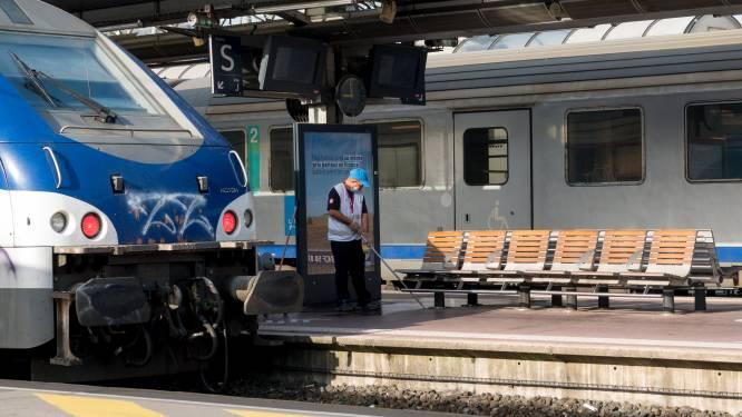 Dode baby aangetroffen in treintoilet Marseille