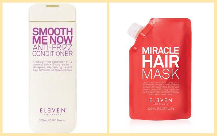 Le shampoing et le masque Eleven Australia