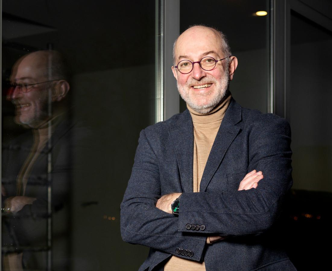 Le vaccinologue Pierre Van Damme (université d'Anvers)