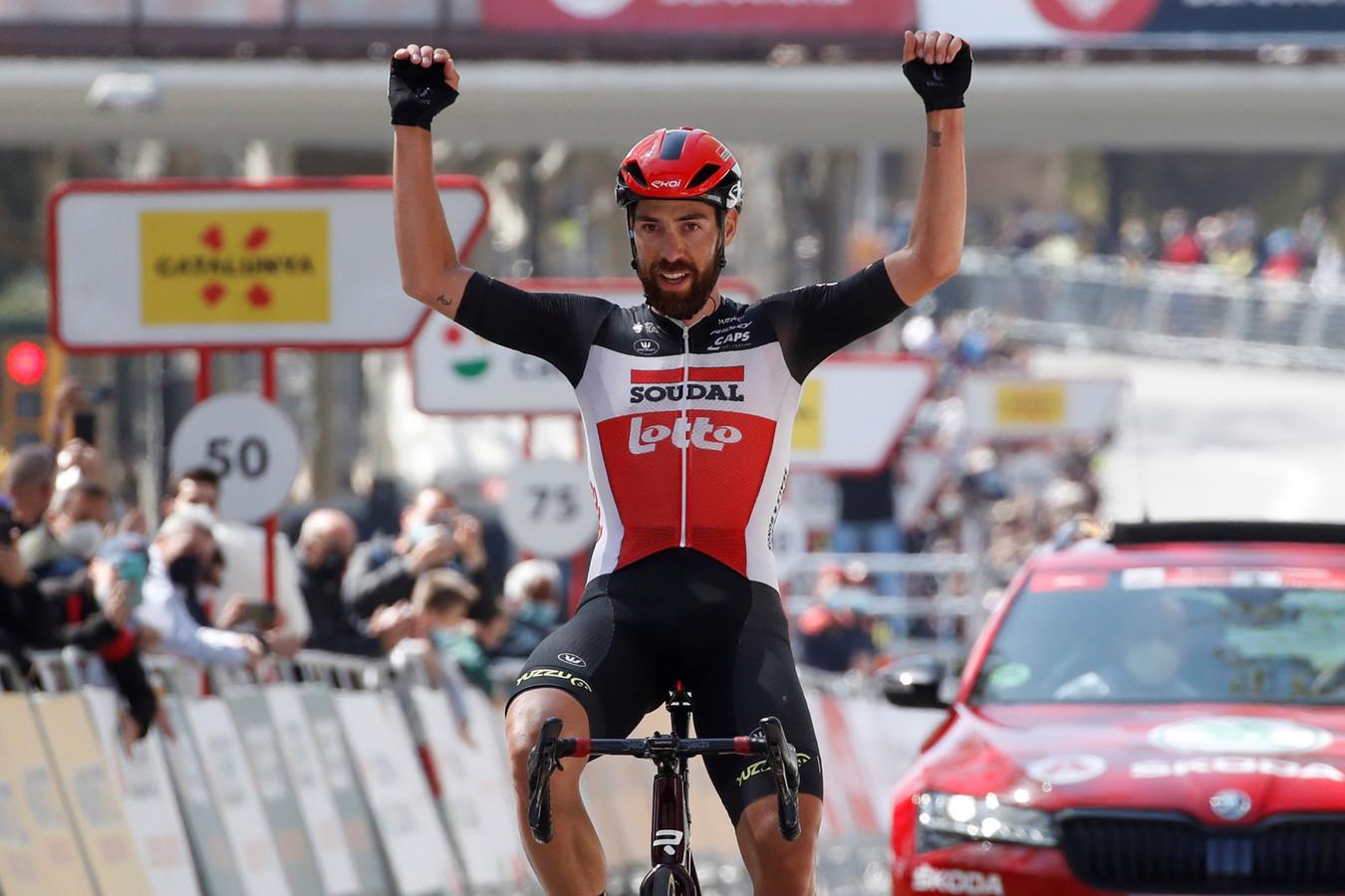 Thomas De Gendt won dit seizoen al een rit in de Ronde van Catalonië.