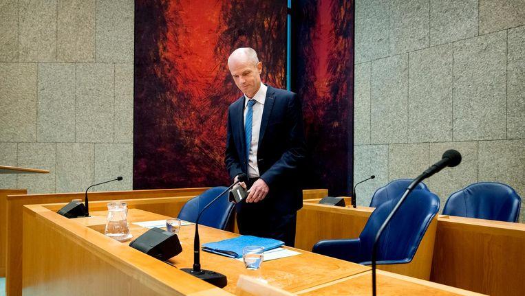Minister Stef Blok (Buitenlandse Zaken) zegt dat er onvoldoende steun is onder de Europese lidstaten voor een dergelijke stap. Beeld anp