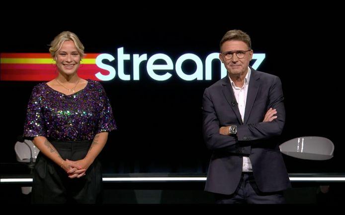 An Lemmens en Erik Van Looy leidden de voorstelling van Streamz in goede banen.