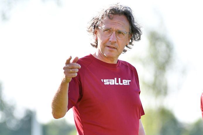 Trainer Patrick Van Houdt blikt tevreden terug op de trainingen tijdens de maand juni.