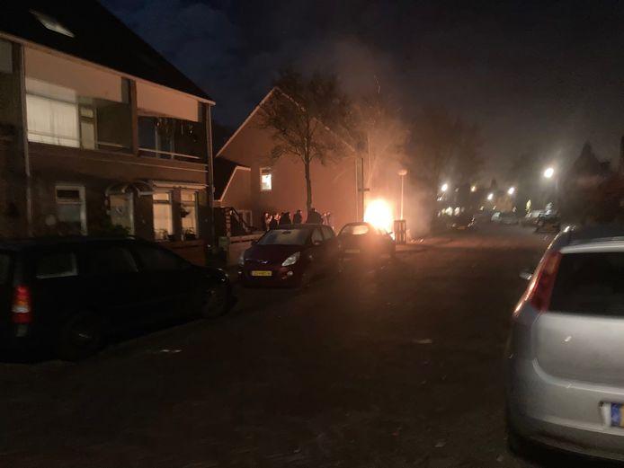 Ook in de nieuwjaarsnacht was het onrustig in het Soesterkwartier.