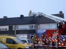 Woning in Enschede loopt schade op door blikseminslag