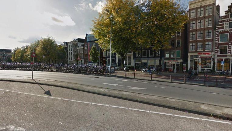 De Prins Hendrikkade Beeld Google Streetview