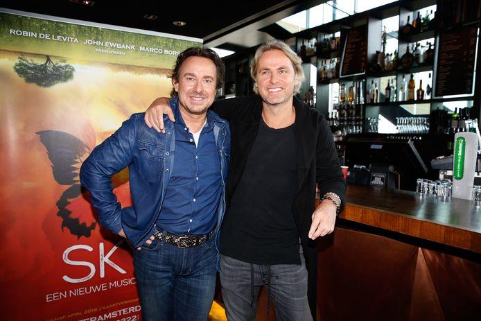 Marco en John in 2016