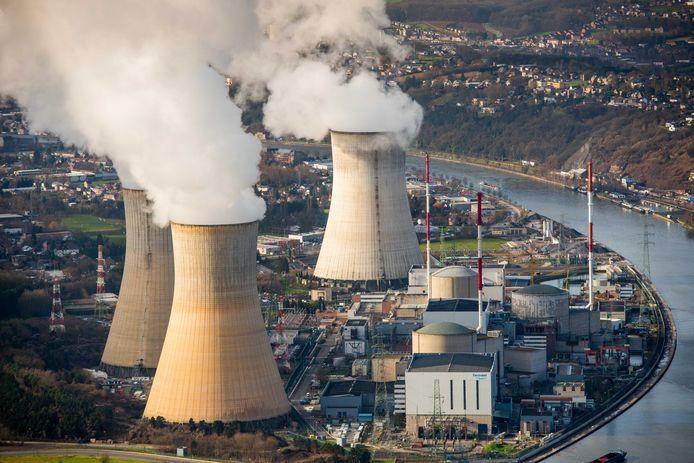 De kerncentrale van Tihange. Archiefbeeld.