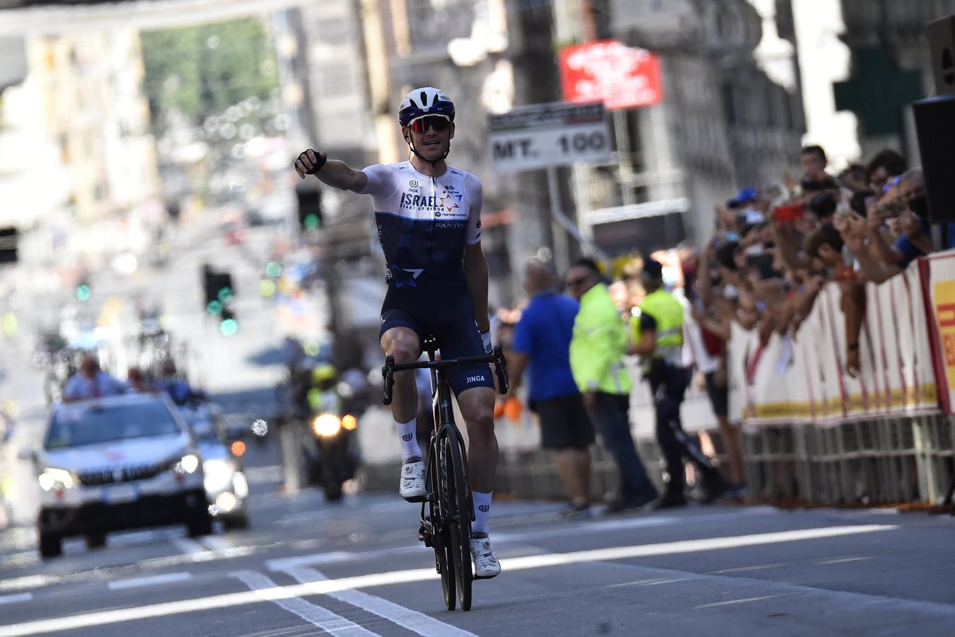 Ben Hermans, hier als winnaar van de Giro dell'Appennino, is één van de kanshebbers voor eindwinst in Noorwegen.