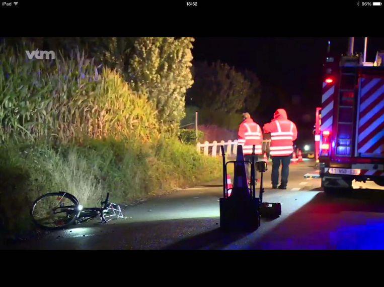 Zondag gebeurde het zoveelste ongeval in de 's Graventafelstraat. De dader pleegde vluchtmisdrijf.