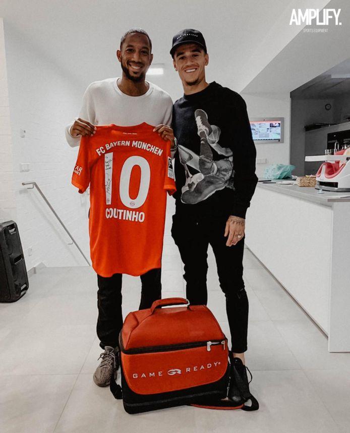 Fabian Sporkslede (links) en Philippe Coutinho.
