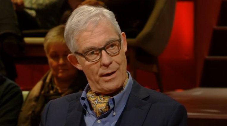 Neuropsychiater Theo Compernolle bij 'Van Gils & Gasten'.  Beeld kos