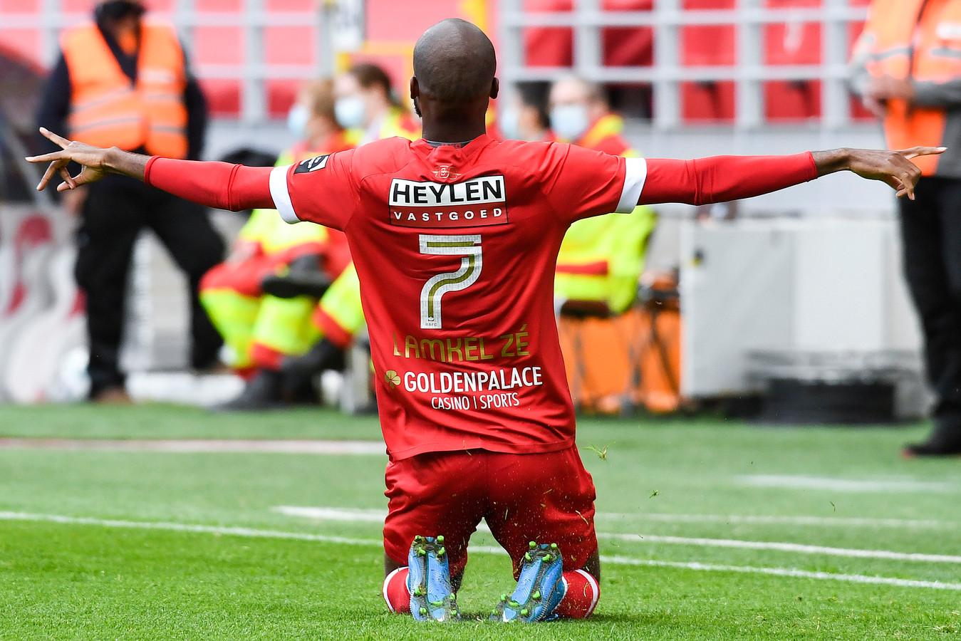 Une exclusion provoquée, un but: Didier Lamkel Zé avait manqué à l'Antwerp durant ces playoffs, il est revenu au bon moment.