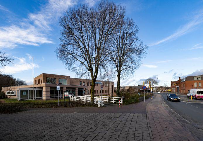 Het voormalige politiebureau aan de Komweg in Gemert.