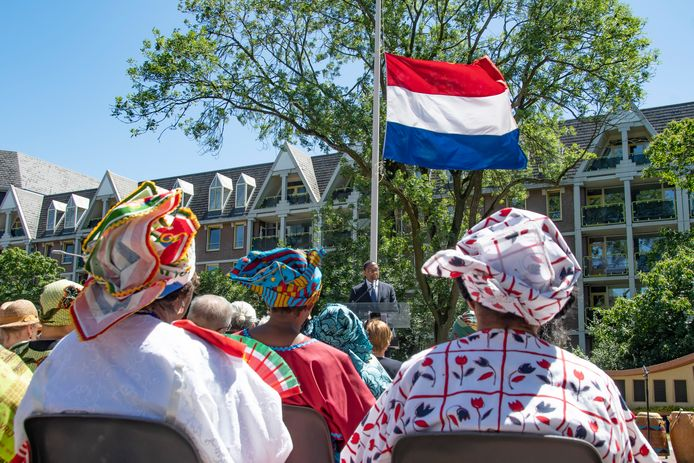 De eerste Brabantse herdenking van het slavernijverleden vond plaats in 2018 in het Vrijheidspark in Tilburg.