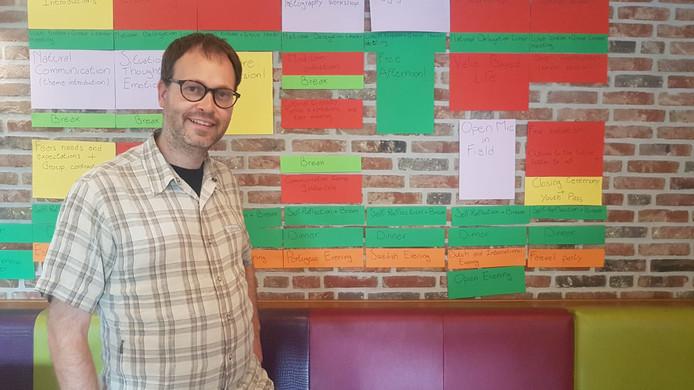 Initiatiefnemer Sybren Bouwsma: 'Het is belangrijk om onder gelijkgestemden te zijn'
