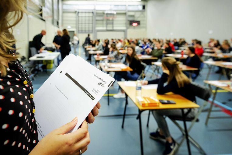 In 2019 werd er voor het laatst eindexamen gedaan.  Beeld ANP/Robin van Lonkhuijsen