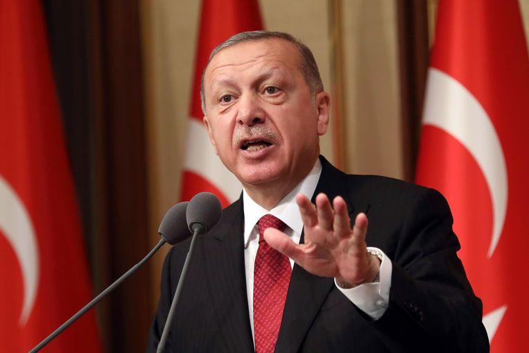 President Tayyip Erdogan van Turkije.