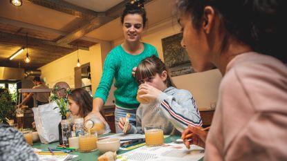 Draakje voor horeca waar kinderen welkom zijn