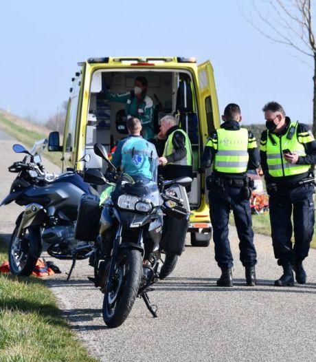 Motorrijder gewond bij val in Sluiskil