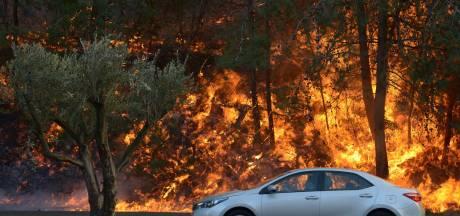 Arrestaties Israël om grote branden