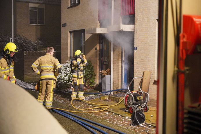 De brand aan de Uiverplaats.