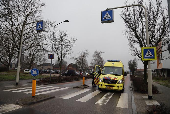 Ongeluk op zebrapad in Boxmeer.