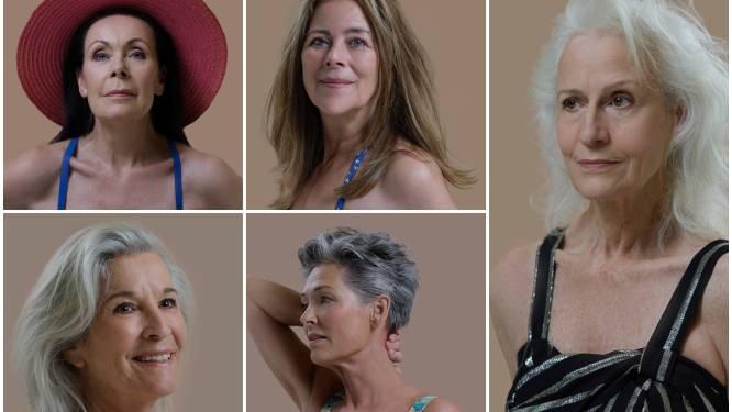 Vijf prachtvrouwen in badpak: 65+ en gelukkiger dan ooit