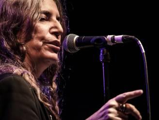 Patti Smith en Gabriel Rios op Rock Werchter