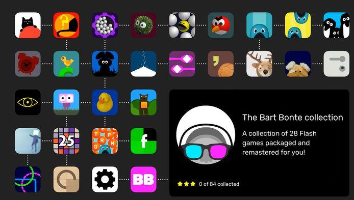 De gamecollectie van Bart Bonte