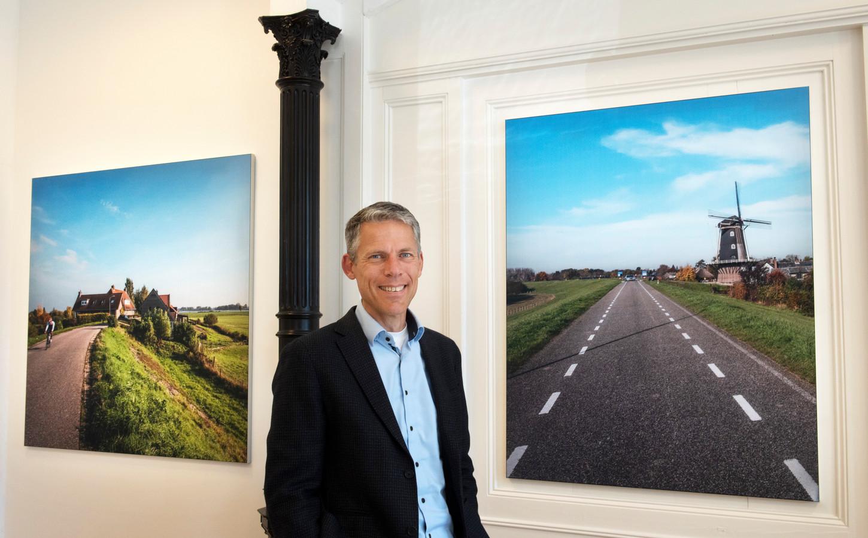 Niek Ridderbos - de man van 350 miljoen euro' - op zijn werkplek in Vuren.