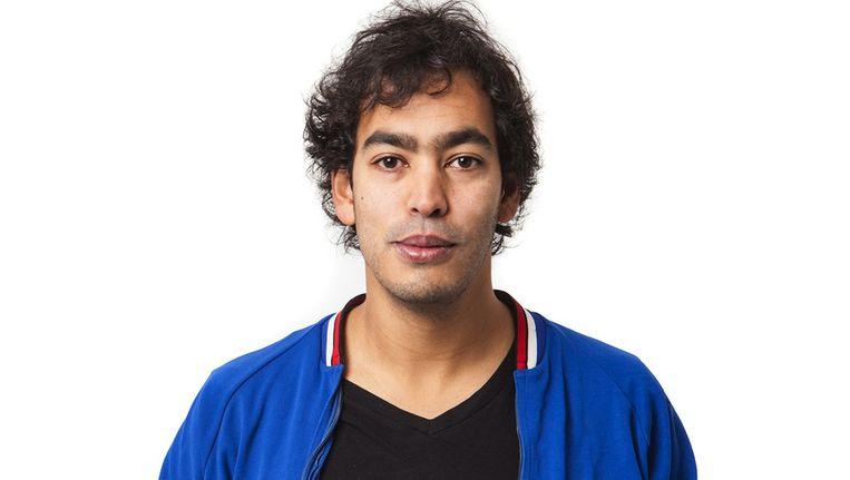 Cabaretier, schrijver en Parool-columnist Johan Fretz Beeld Floris Lok