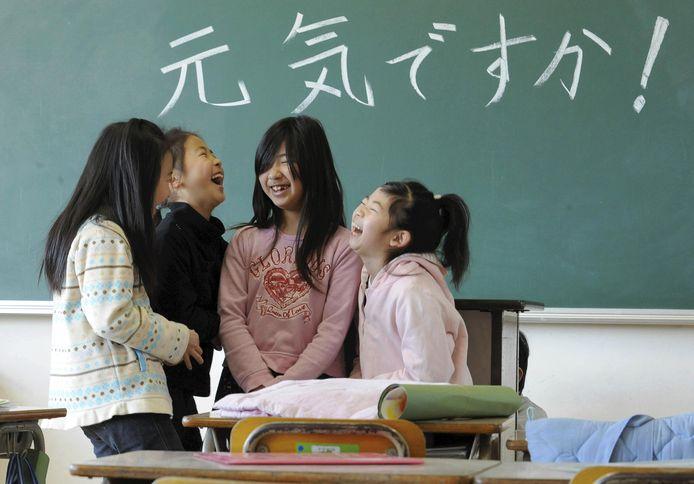 Een luidruchtige school kan op de kaart worden gezet.