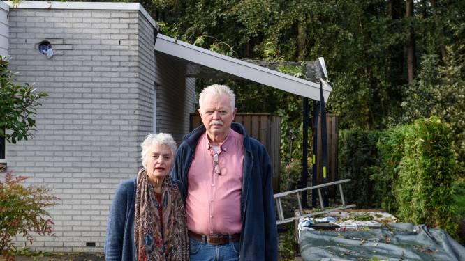 Boom valt op woning van Hengelose Gerard en Anneke: 'Alles zat toch al tegen, dit kan er nog wel bij'