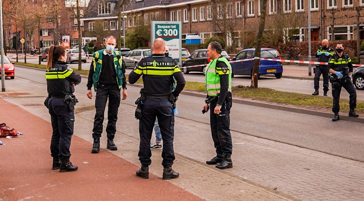 De plek vaan het steekincident in Eindhoven.