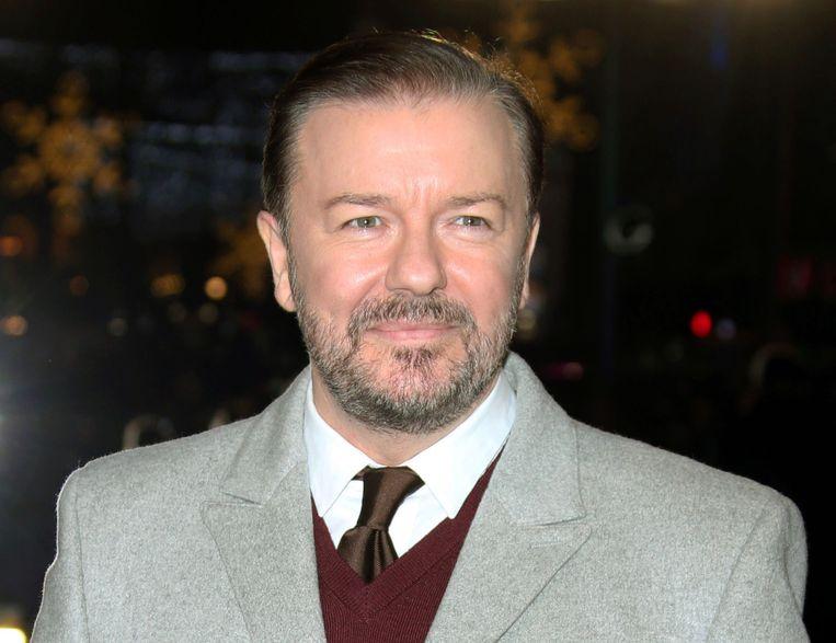 Presentator Ricky Gervais. Beeld Joel Ryan/Invision/AP