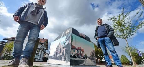 Hengelose container gepimpt: afvalzak wegbrengen én historische plaatjes bekijken