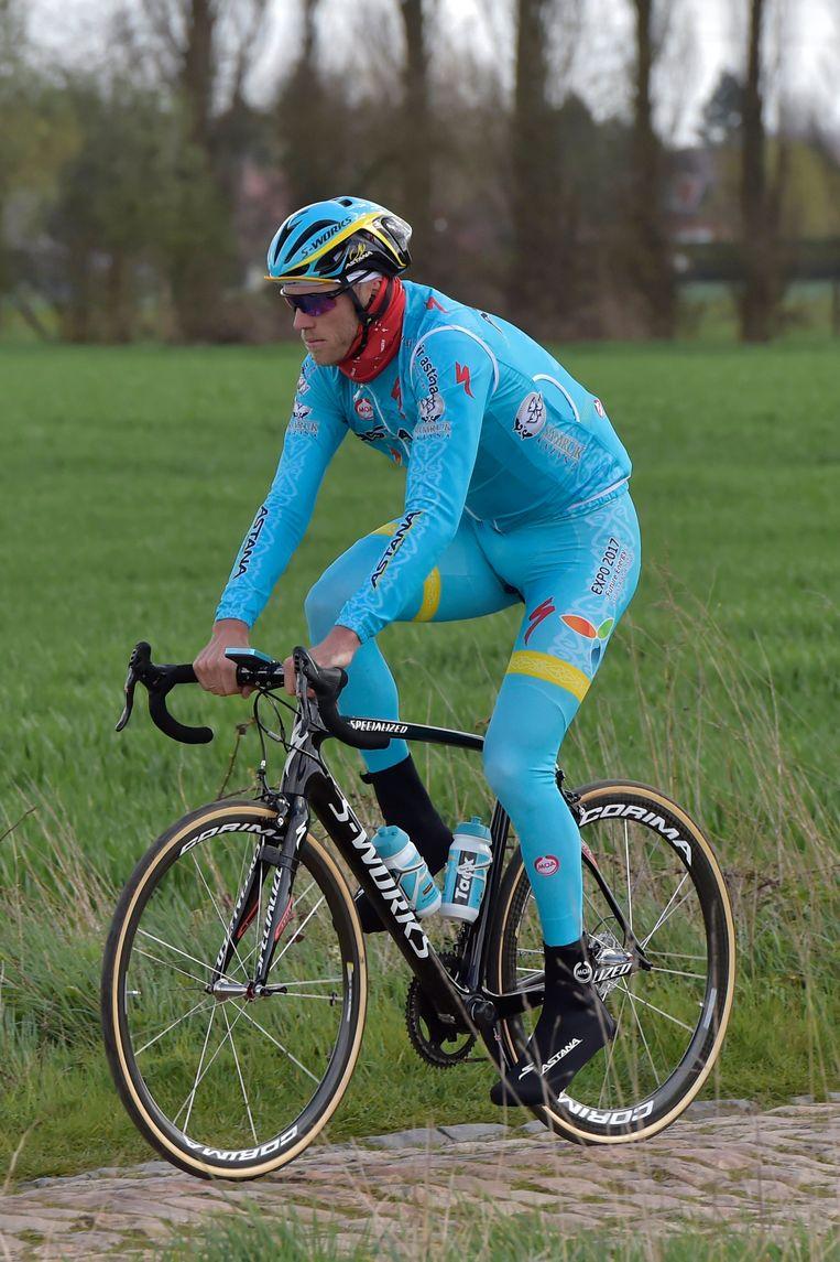 Lars Boom mikt op een grote klassieker genre Parijs-Roubaix Beeld Photo News