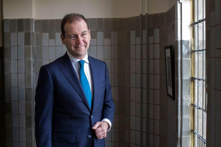 Lodewijk Asscher, partijleider van de PvdA, fractievoorzitter in de Tweede Kamer. Schreef boek 'Opstaan in het Lloyd Hotel'.  Beeld Werry Crone