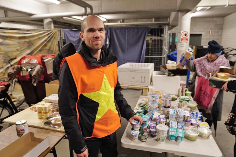 FILIP FRANÇOIS - Let's Save Food. Beeld Humo