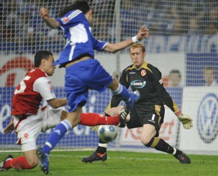 Kuranyi was weer trefzeker voor Schalke. Beeld UNKNOWN