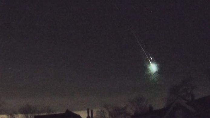 L''institut royal d'Aéronomie Spatiale de Belgique a confirmé la vaporisation dans l'atmosphère d'un météore qui est passé au-dessus de la Manche vers 6h du matin.