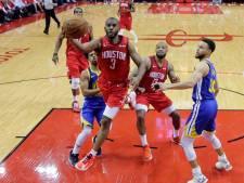 Warriors nog steeds op koers voor titelprolongatie in NBA