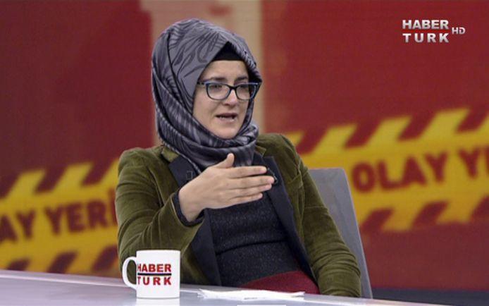 Hatice Cengiz, verloofde van vermoorde journalist Jamal Khashoggi is teleurgesteld in Trump.