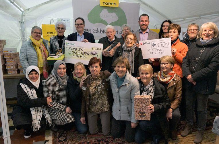 Het project werd mogelijk gemaakt dankzij steun van Crelan Foundation, Rotary, De Ronde Tafel en Schoenen Torfs.